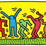 Mon portrait stylisé avec Keith Haring